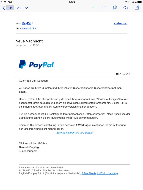 Geld ZurГјckholen Paypal